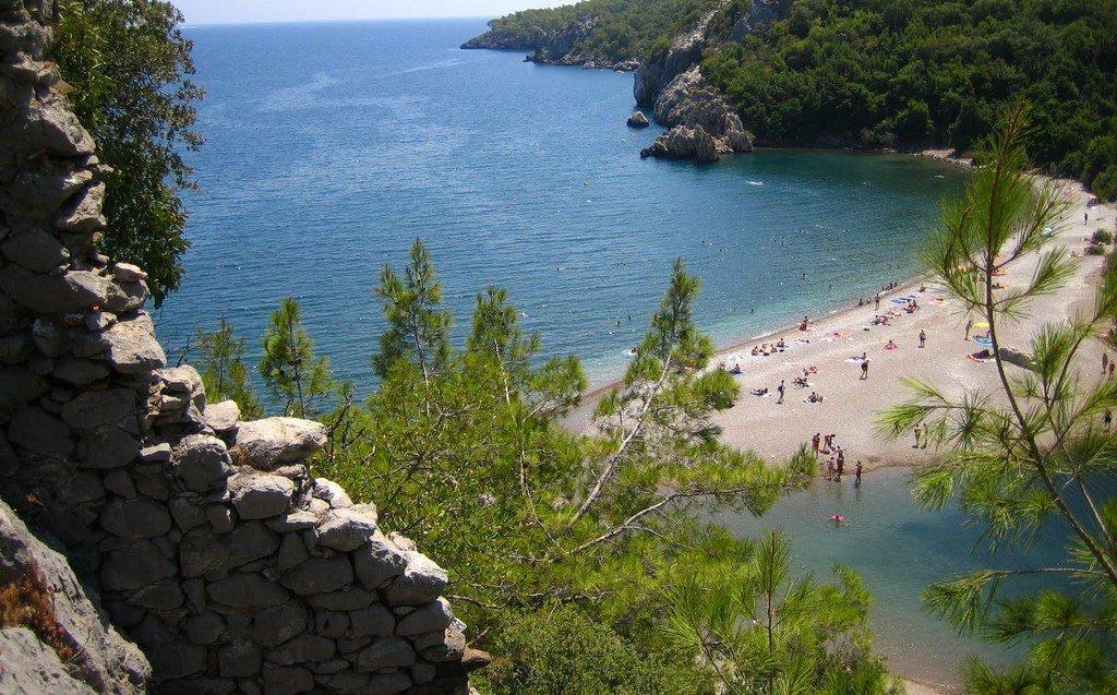 Best Beach in South Coast of Turkey