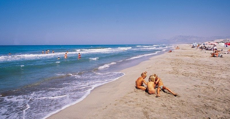 best beach in Turkish riviera