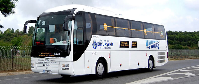How to Get to Istanbul Airport from Taksim by Shuttle Bus