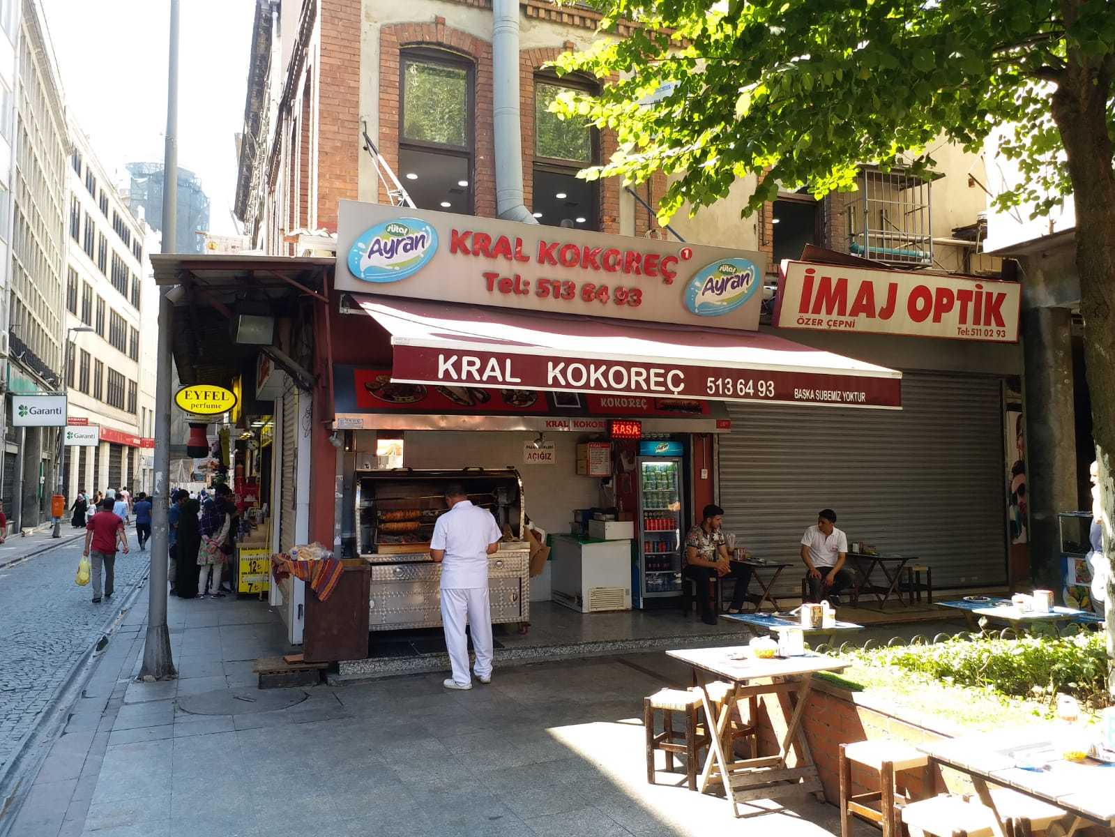 Best Kokorec in Istanbul Old City