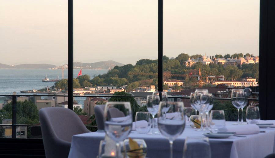 Best Restaurant in Taksim with Bosphorus View