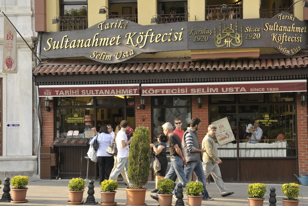 kofte restaurant in sultanahmet