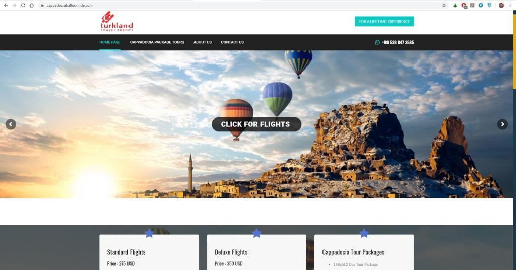 Cappadocia Hot Air Balloon Tour Cost