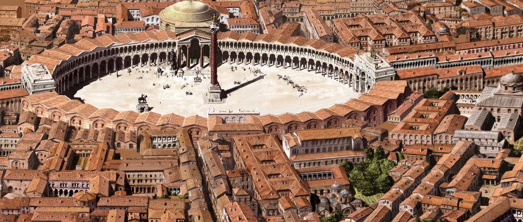 Byzantine Ruins in Istanbul Turkey