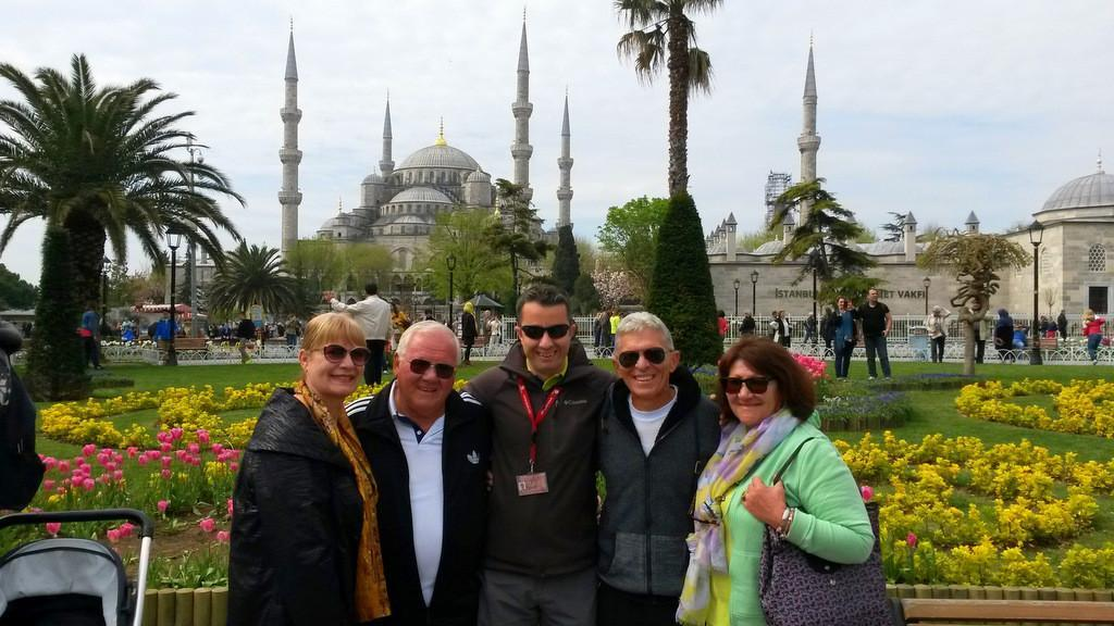 Private walking tour of Sultanahmet