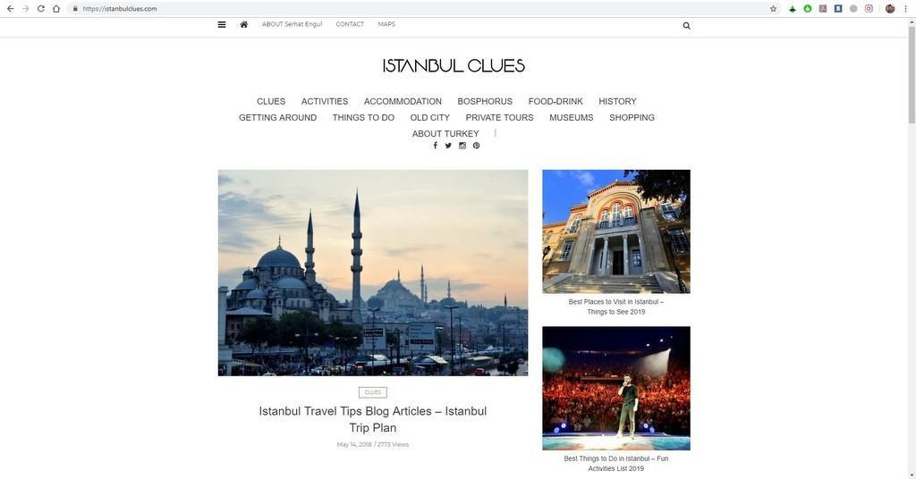 Istanbul Clues Travel Guide