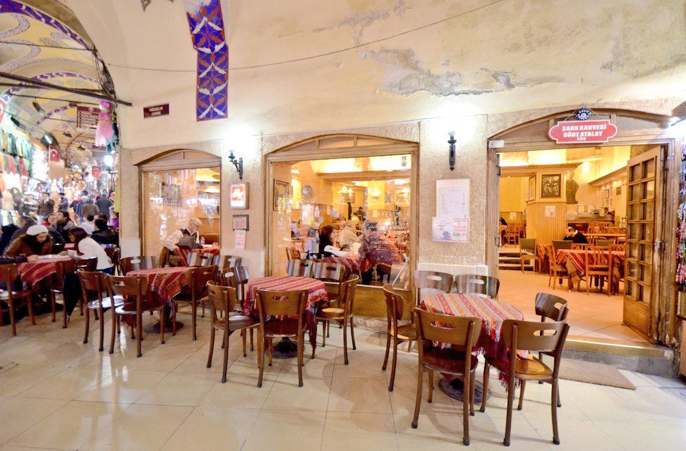 best turkish coffee shop in Istanbul