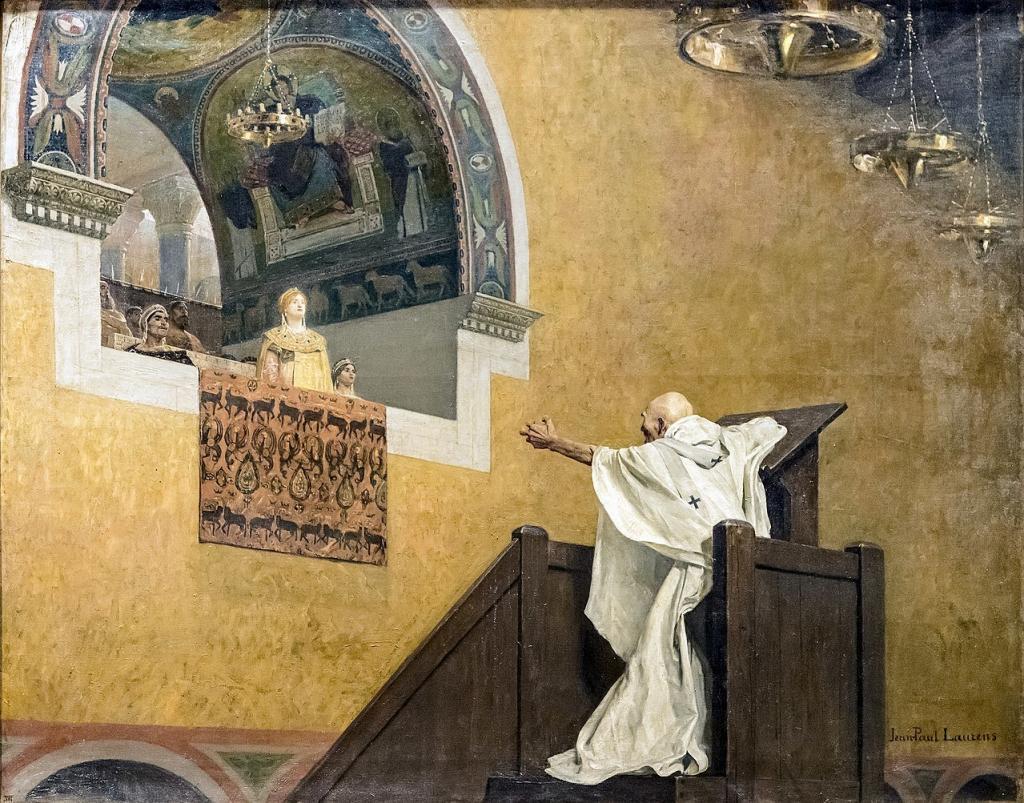 Empress Aelia Eudoxia vs Ioannes Chrysostomos