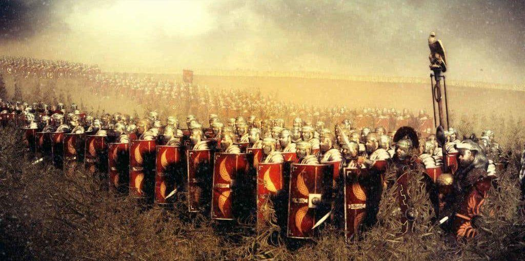 Galerius and the Roman soldiers
