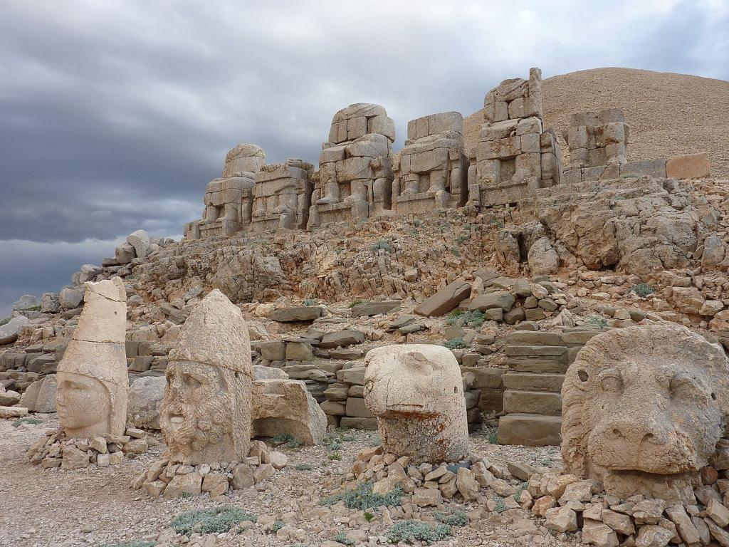 Entrance Fee of Mount Nemrut in Adiyaman, Turkey