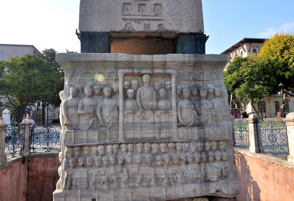 Emperor Theodosius with Arcadius and Honorius