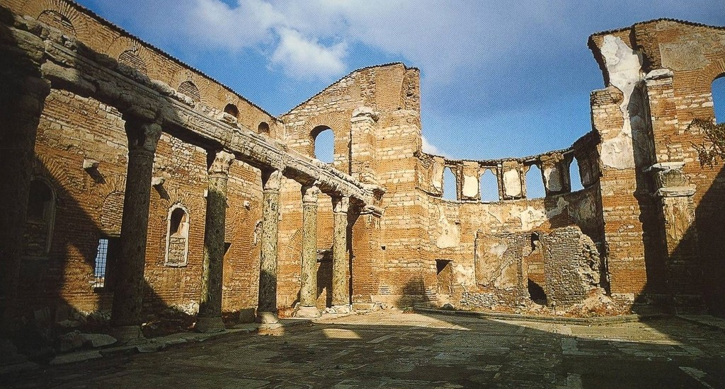 Ruins of The Monastery of Stoudios in Istanbul, Turkey