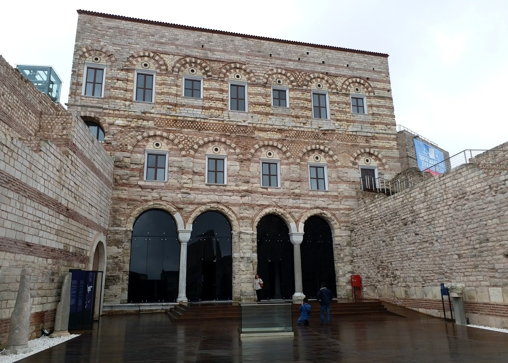 Tekfur Palace Tile Museum in Istanbul